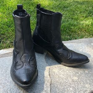 Free People Western style boot